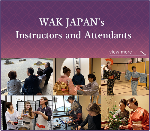 Instructors and Attendants The WAK JAPAN's Pride